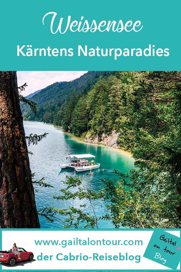 Der Weissensee in Kärnten ist ein Paradies für Urlauber im Sommer und Winter