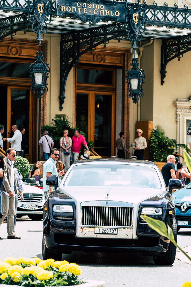 Luxuswagen Casino Monte Carlo