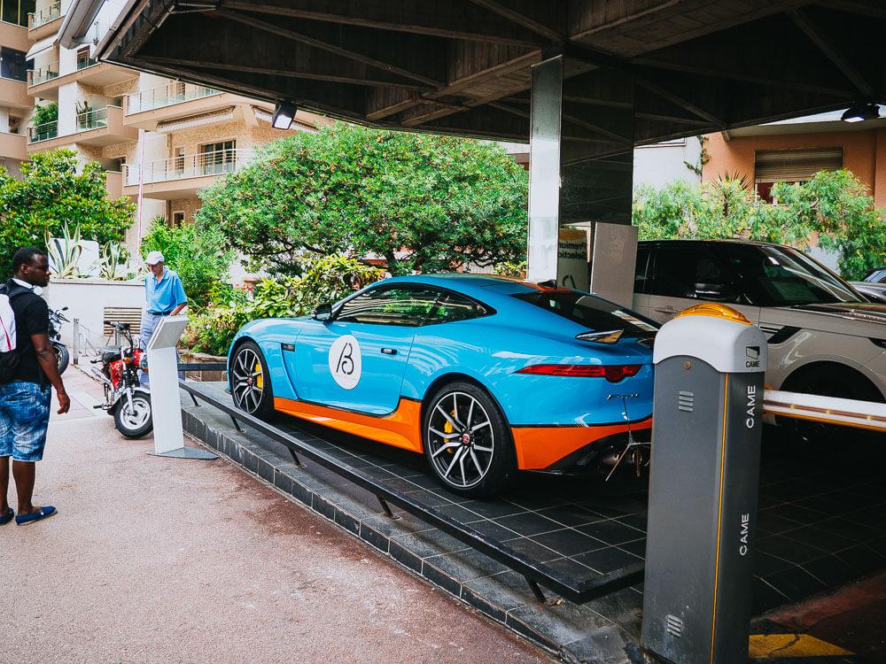 Sportwagen Monaco