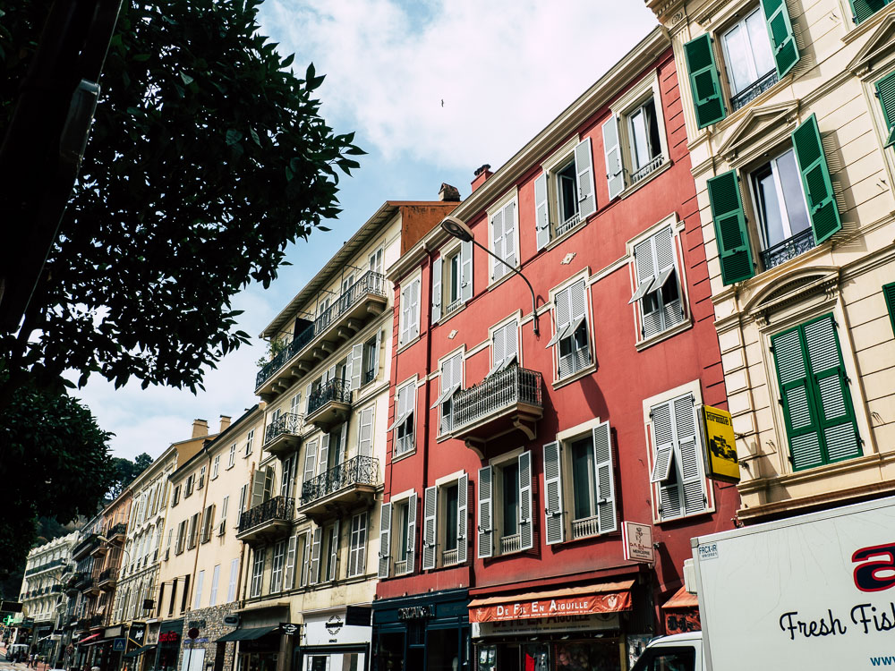 Straßen Monaco