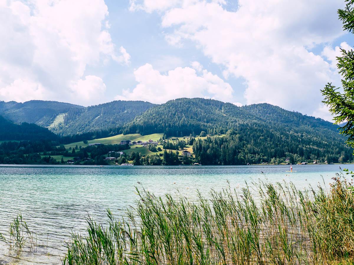Weißensee im Sommer