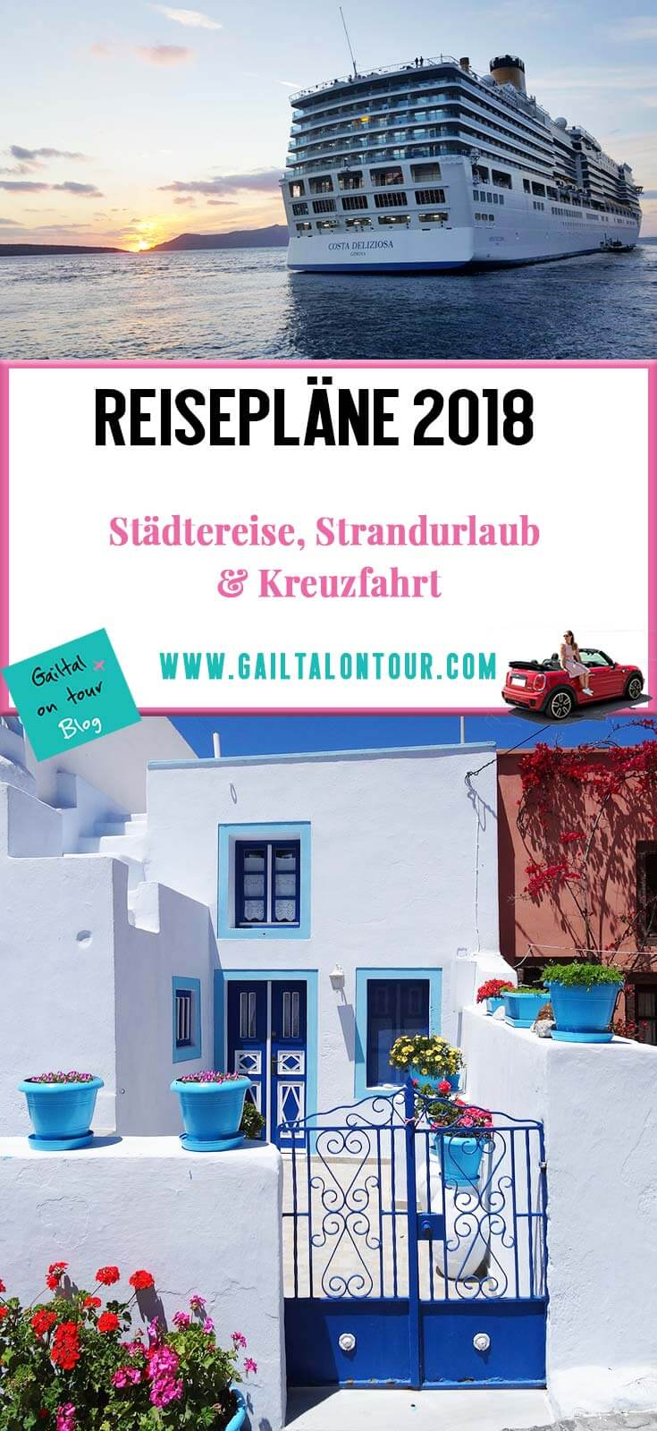 Reisepläne 2018