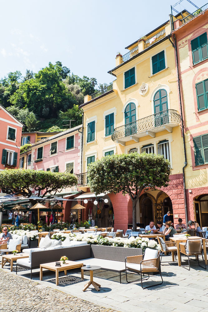 Restaurants-Portofino-Italien