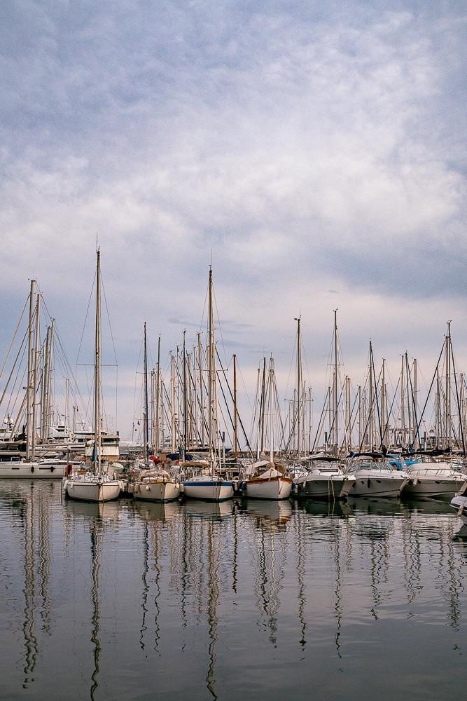 Cannes-Hafen-Boote