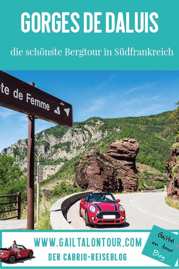 Tipp Cabrio Route in das Hinterland der Cote d'Azur. #Gorges de Daluis, die spektakuläre und schönste #Bergroute der #Alpes-Maritimes. Mit Zwischenstopp in #Entrevaux, #Guillaumes und #Grasse
