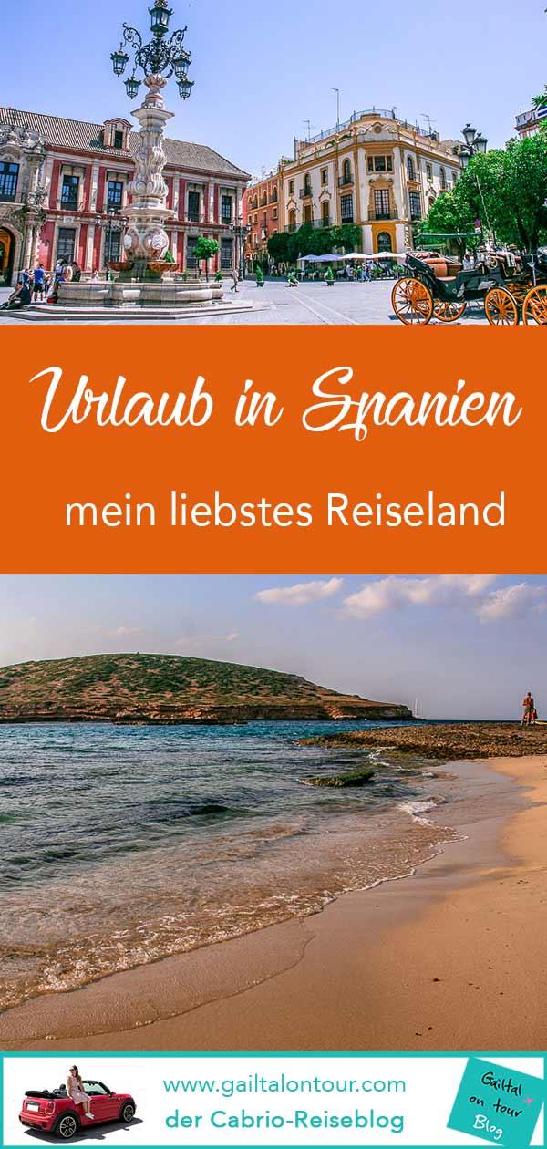 Urlaub und Reisen nach Spanien