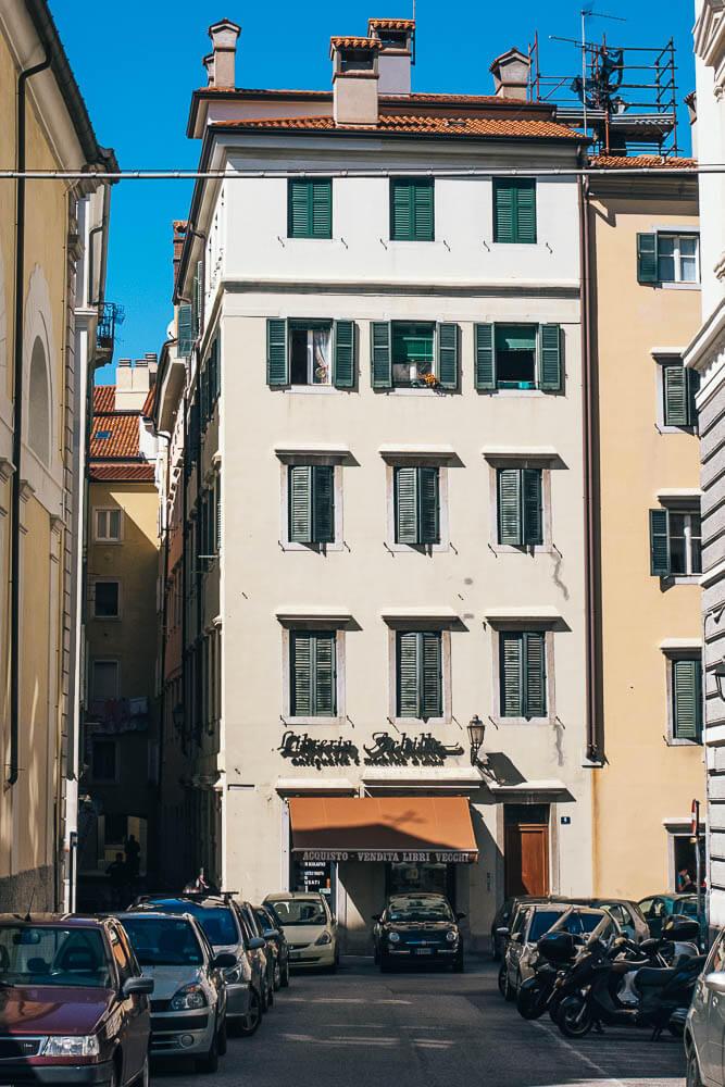 Triest-Innenstadt-Italien