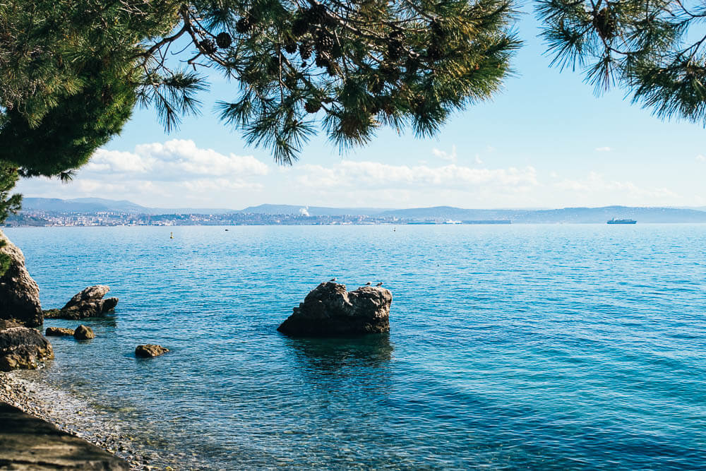 Triest-Italien-Ausflug-Meer