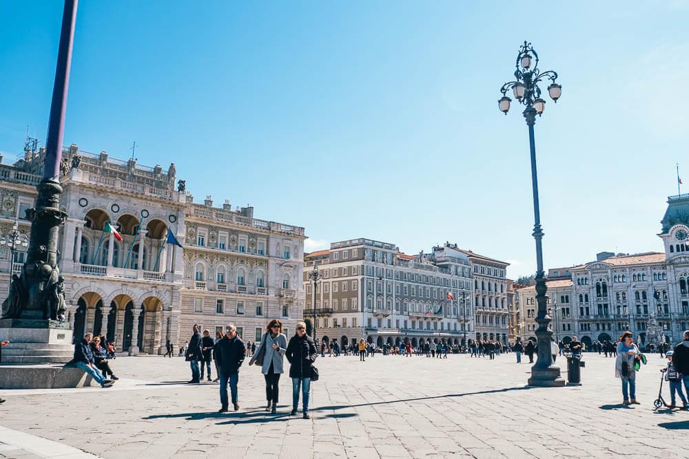 Piazza Unita d'Italia Triest