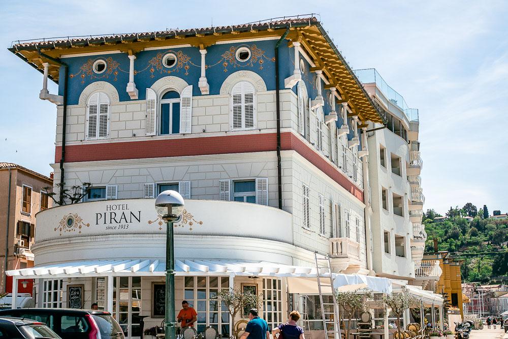 Hotel in Piran