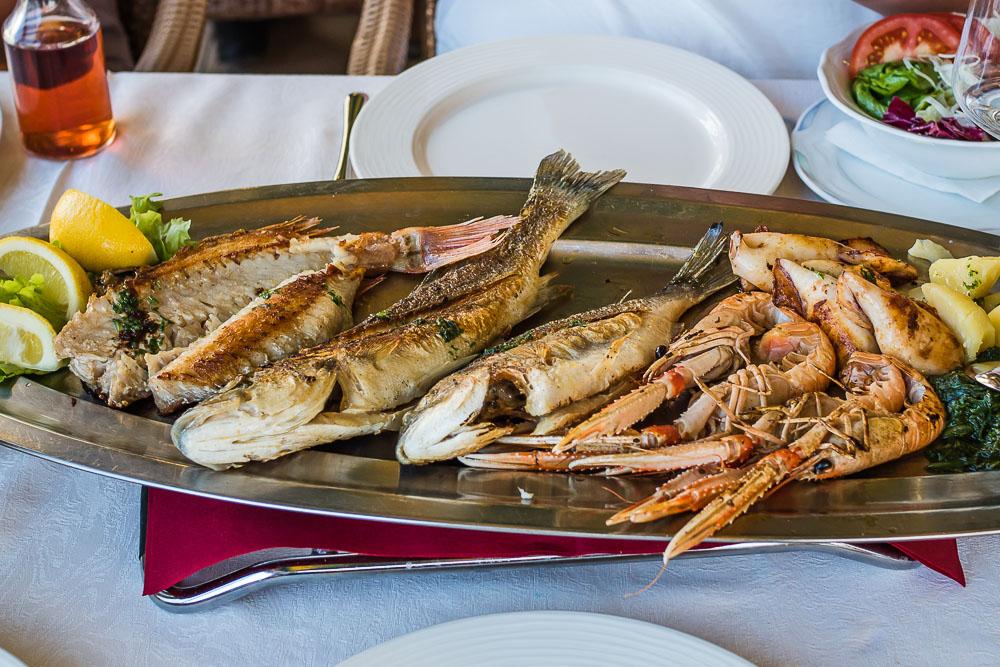 Fischlokal Piran Tipp