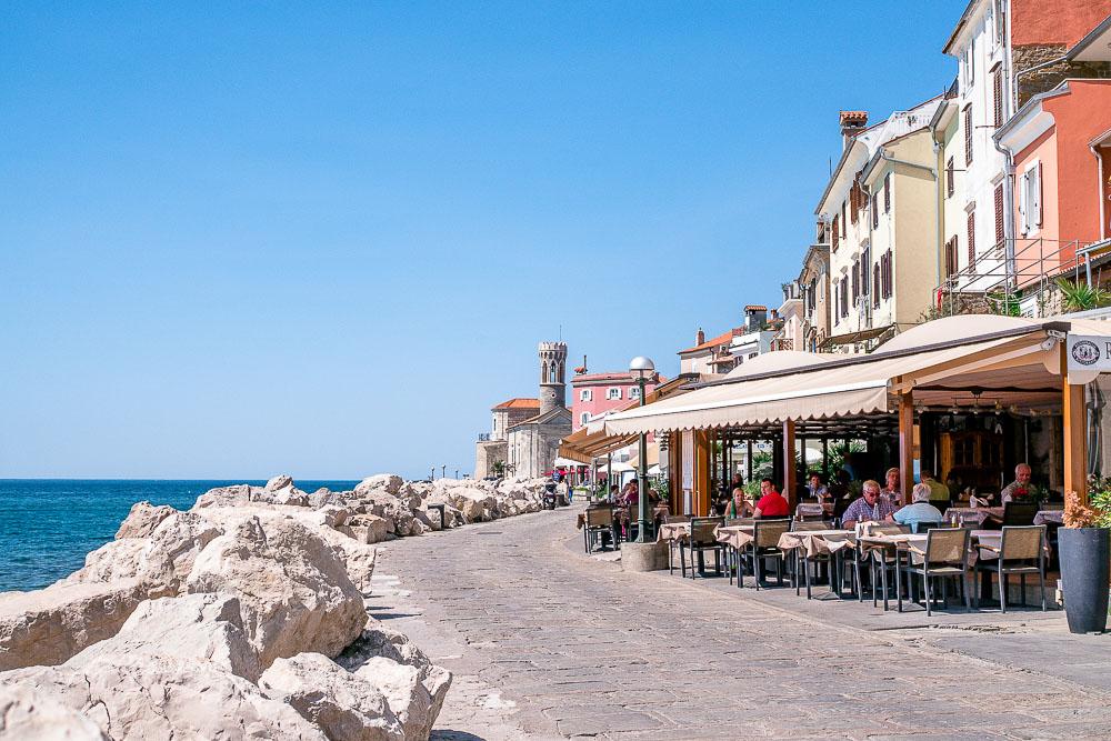 Promenade von Piran