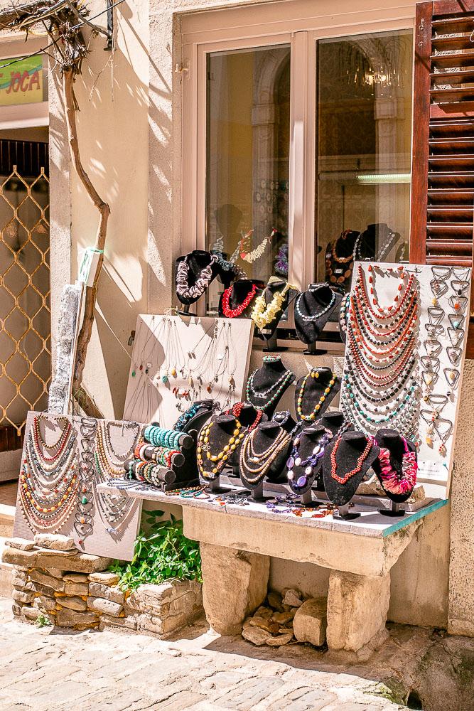 Einkaufen in Piran