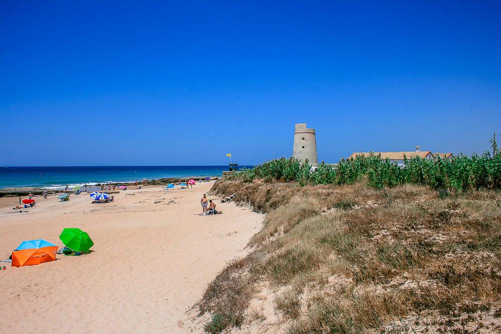Strand El Palmar bei Conil