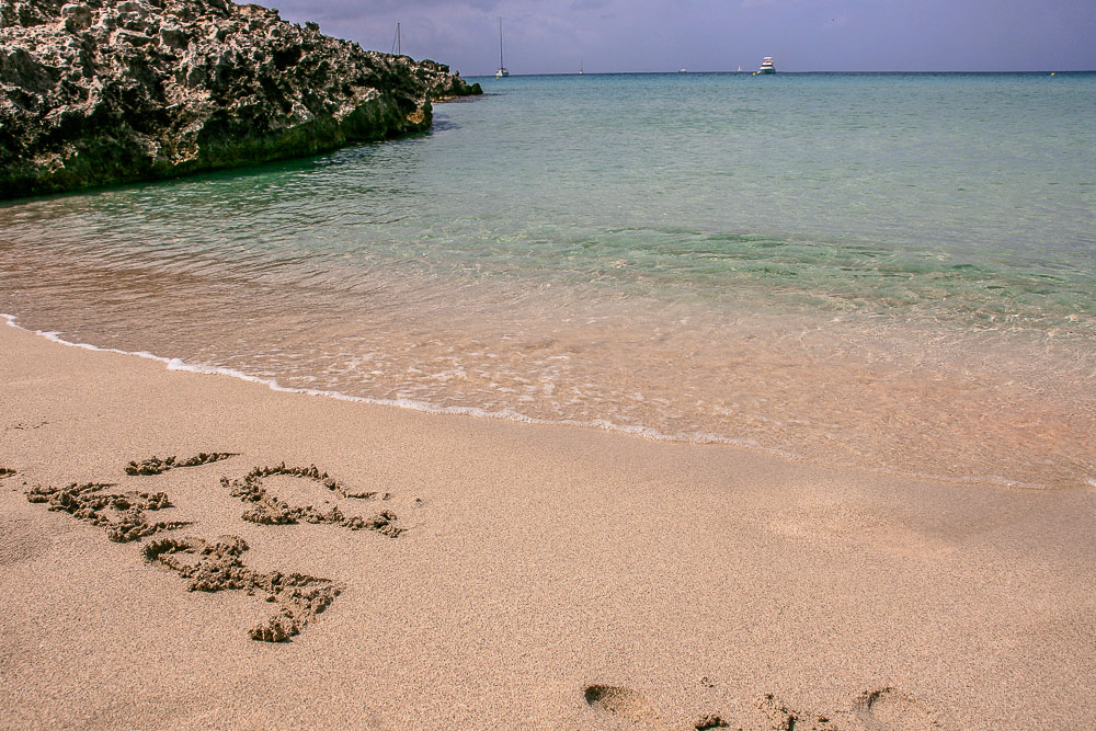 Platja des ses Illjetes Formentera