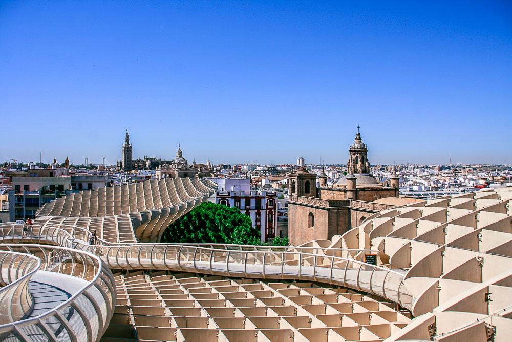 Spanien Andalusien Urlaub Sevilla