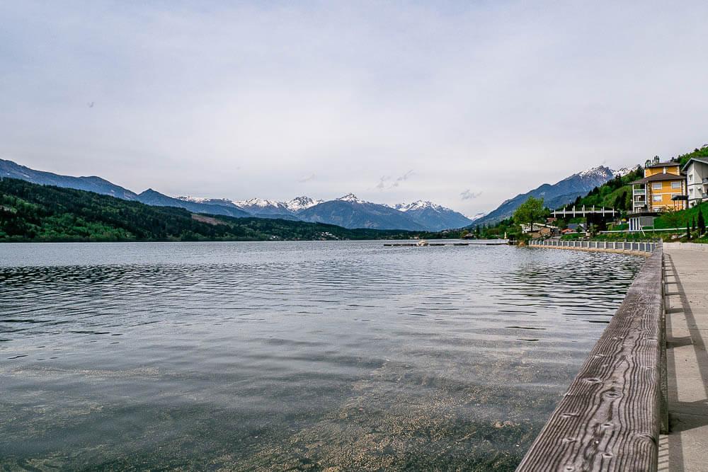 Radweg Millstätter See