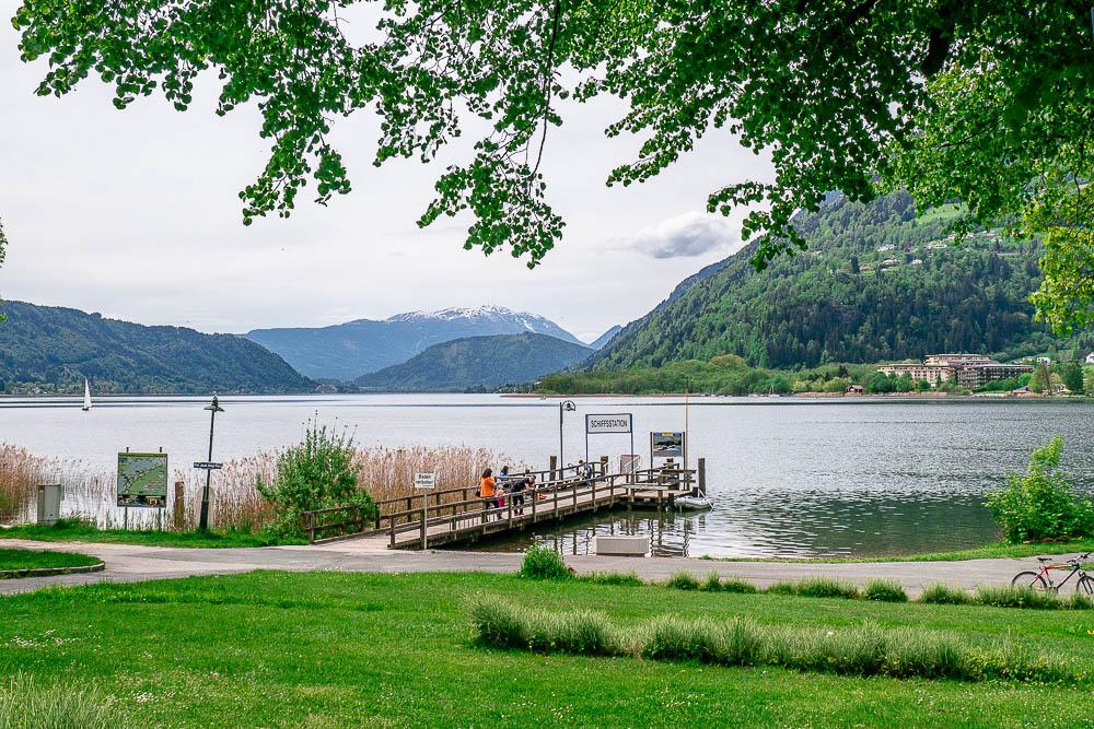 Schifffahrt am Ossiacher See