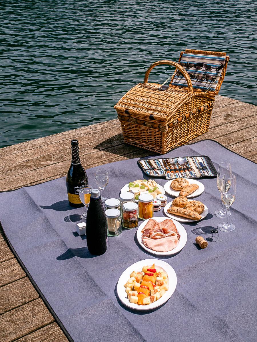 Picknickkorb Zeit zu zweit