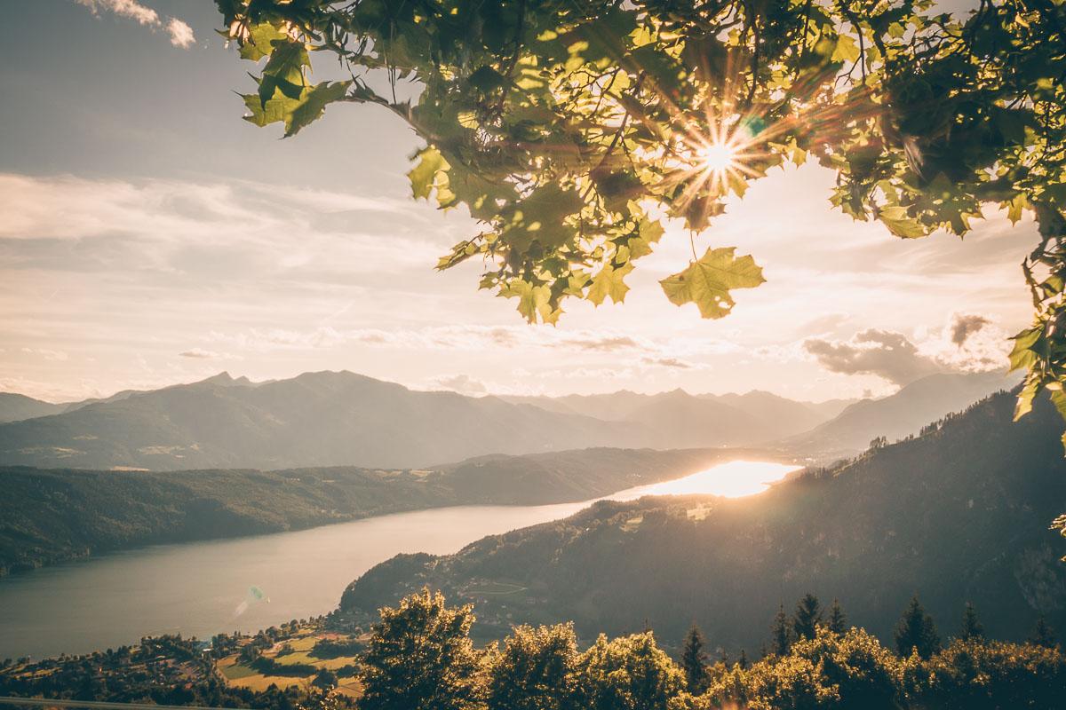 Sonnenuntergang Millstätter See
