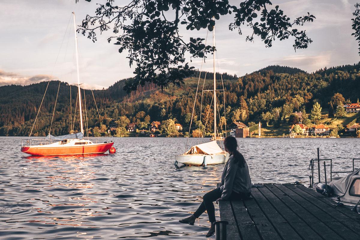 Biwak Lichtung am See mit Seezugang