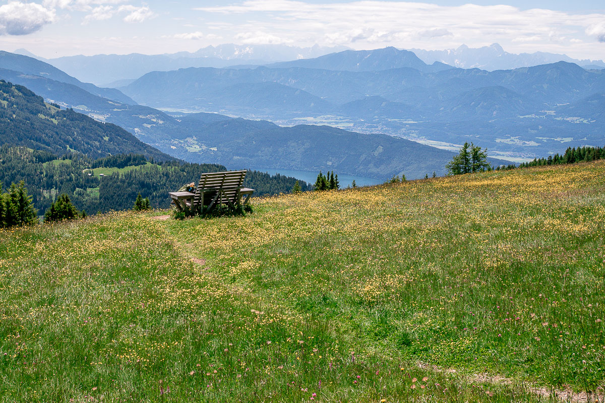 Aussichtsplatz Millstätter Alpe