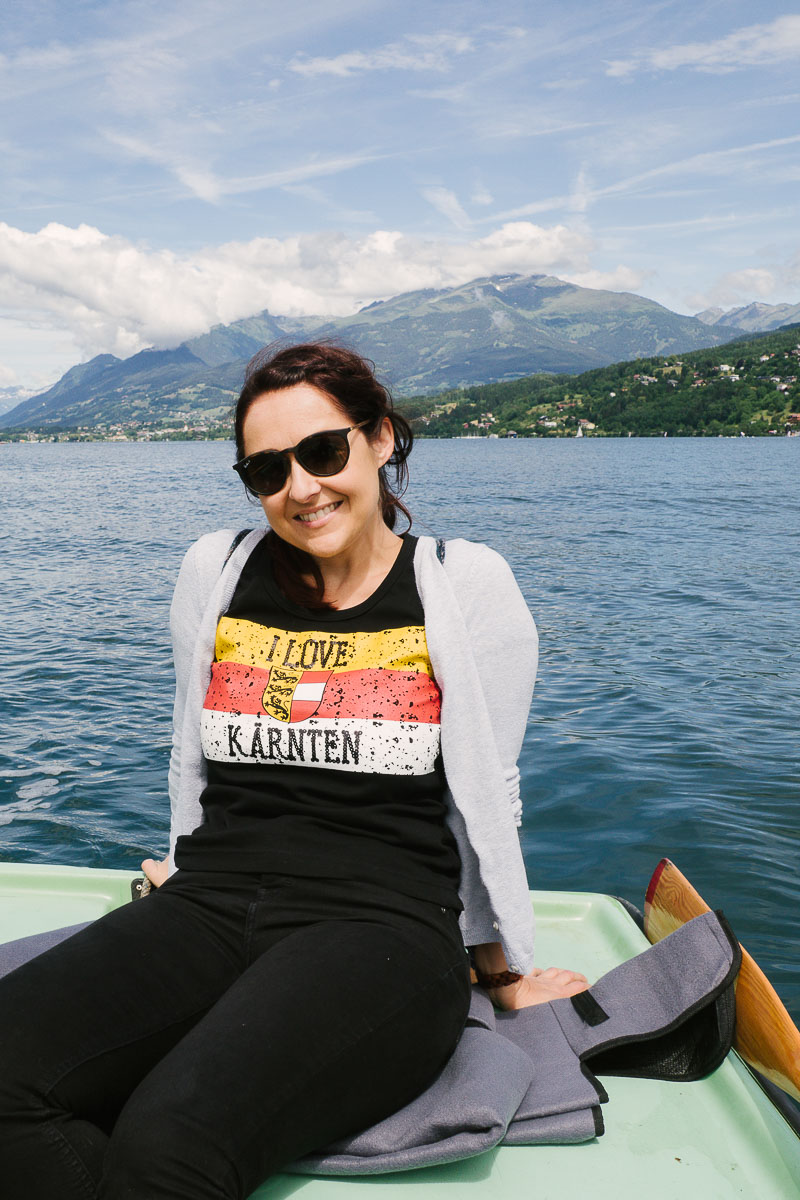Ruderbootsfahrt am Millstätter See