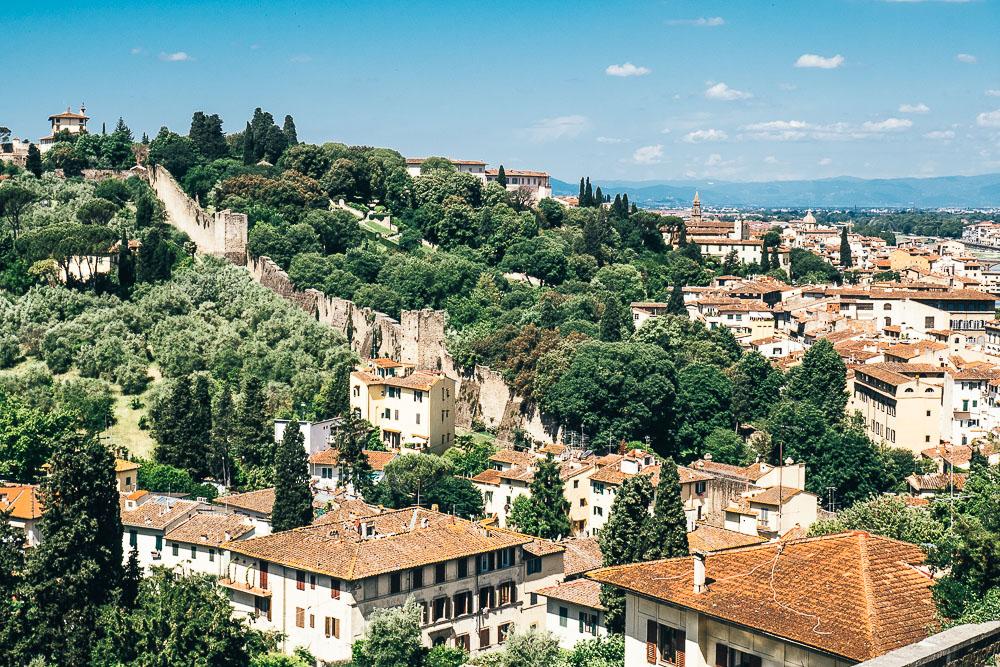 Florenz Stadtmauer