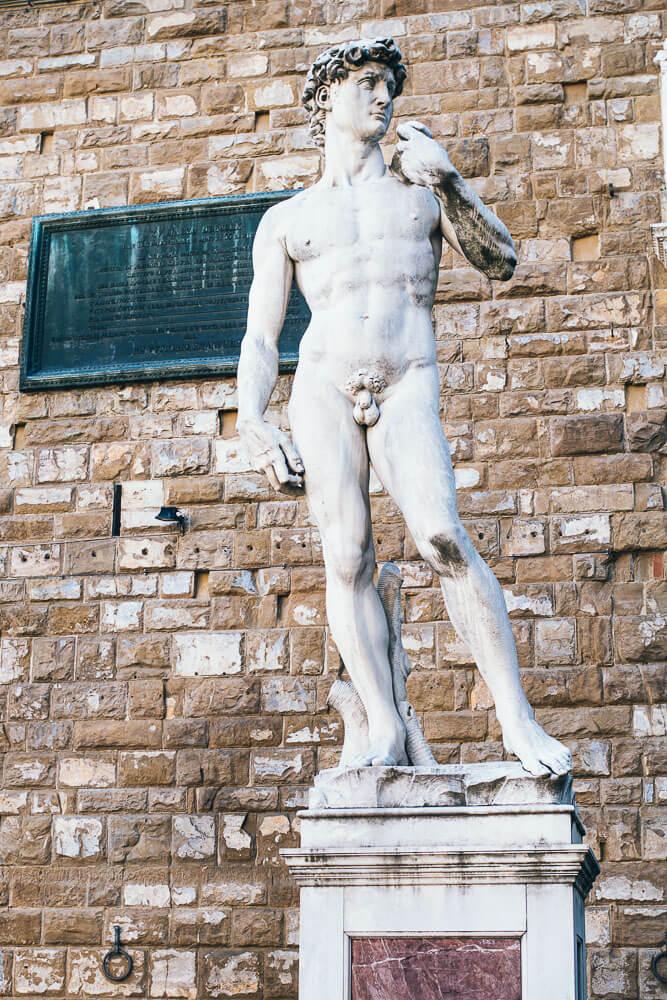 Statue-Michelangelo-Florenz