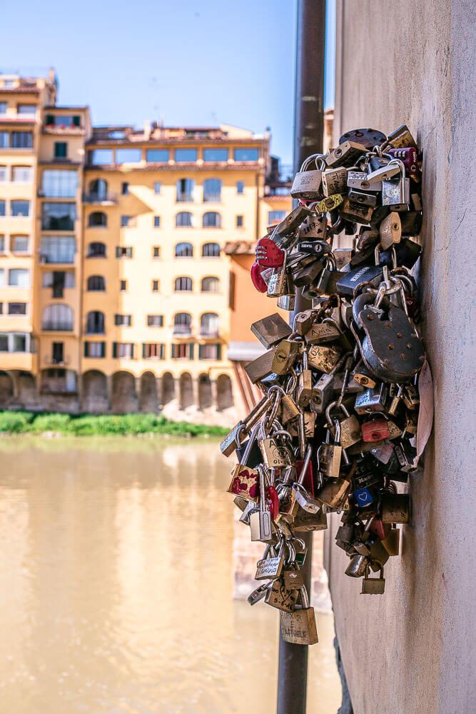Liebesschlösser Florenz