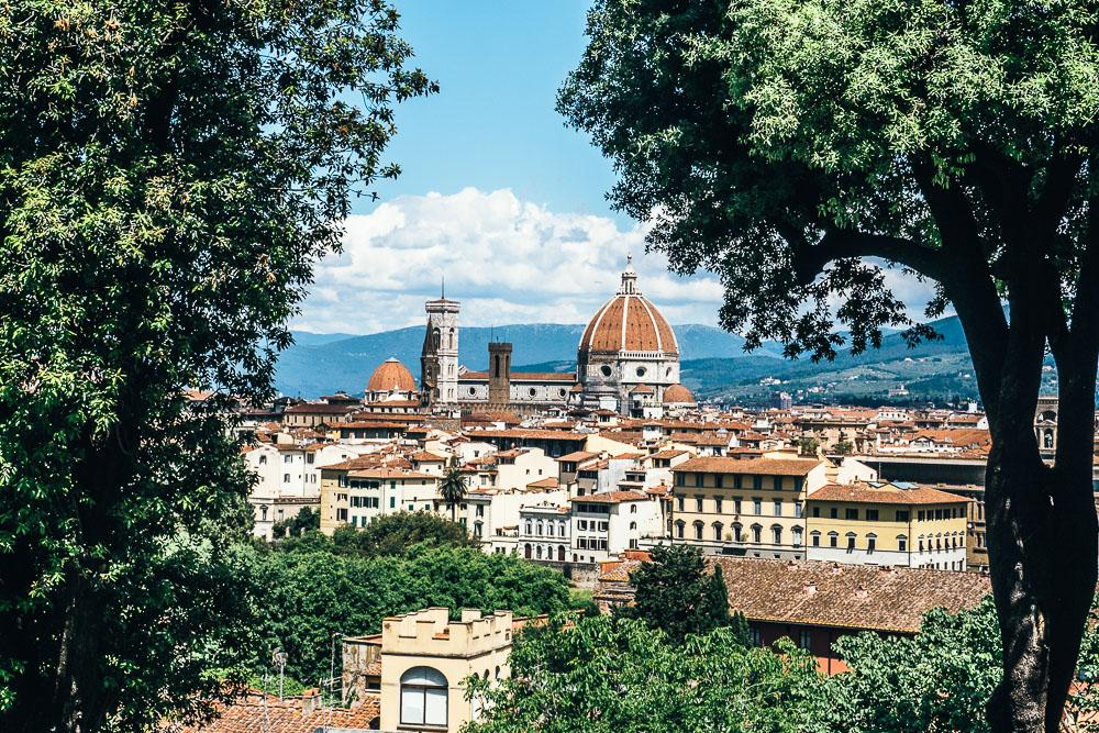 Florenz-Aussichtspunkt