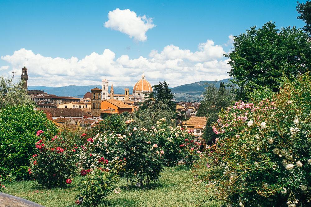 Rosengarten Florenz