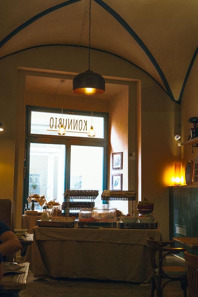 Frühstückslokal in Florenz