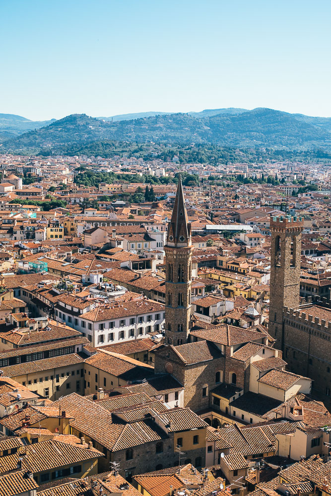 schönster Ausblick Florenz