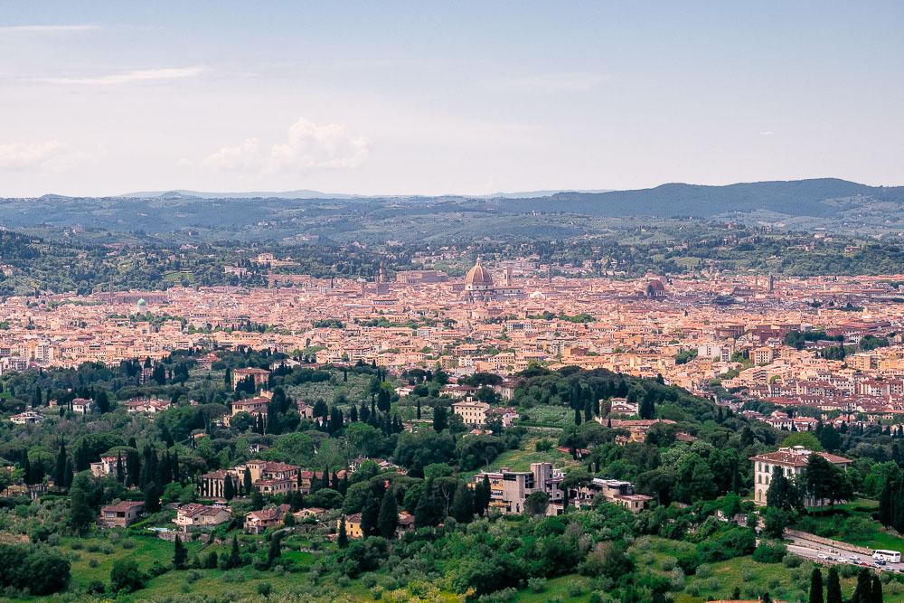 Fiesole-Blick-auf-Florenz