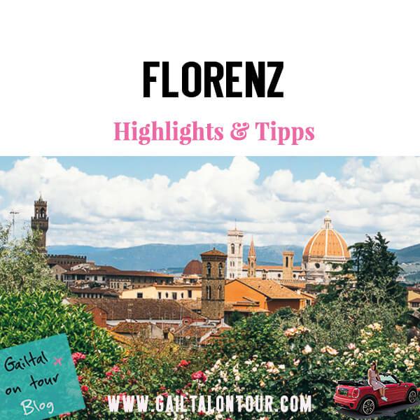 #Florenz Tipps Kurztrip. Highlights und die schönsten Aussichtspunkte der Stadt