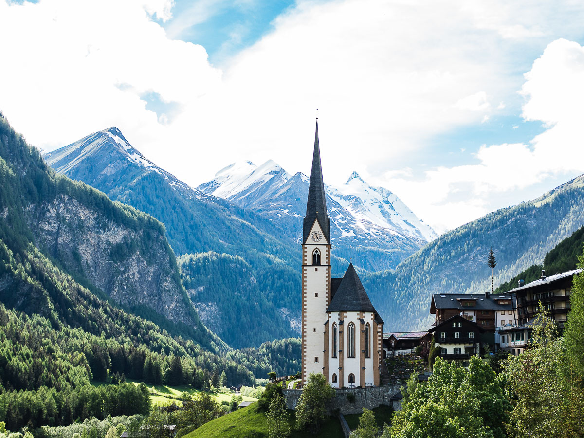 Heiligenblut Kärnten Kirche Großglockner