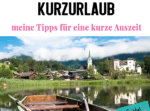 Tipps Kurzurlaub Europa