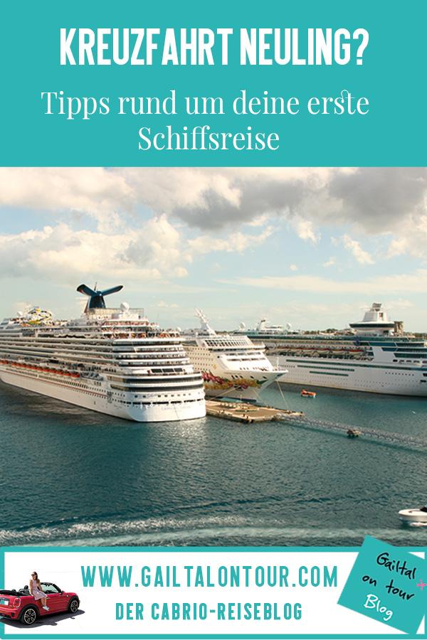 Buchung Schiffsreise Tipps