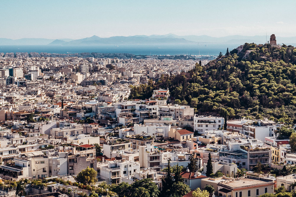 Athen-ausblick-akropolis-piräus