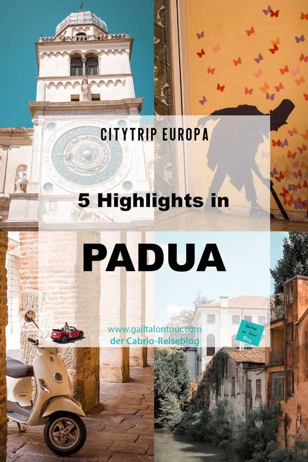 Besuch Padua, Highlights & Tipps