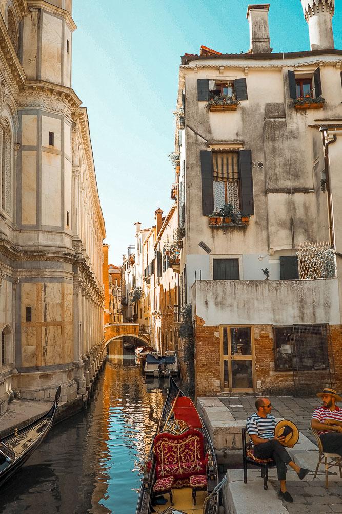 venedig-gondolieri