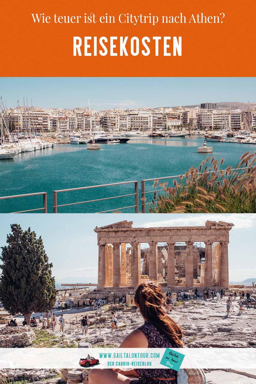 Städtereise-Reisekosten-Athen