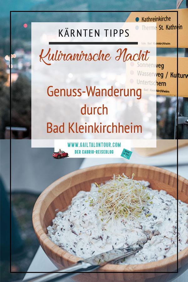 kulinarische Nächte in Kärnten