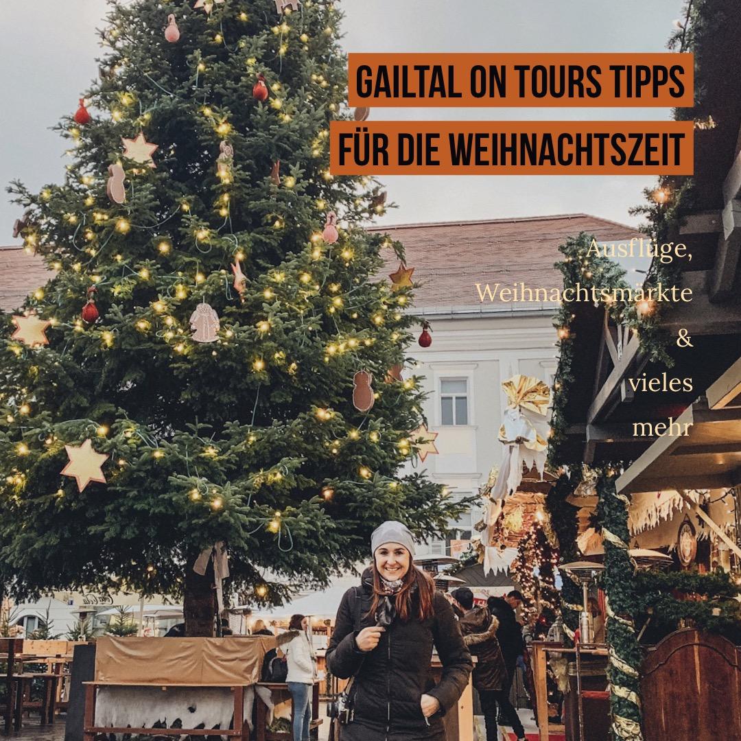 Tipps von Bloggerin Gailtal on tour für die Weihnachtszeit in Kärnten