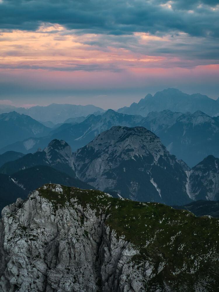 Sonnenuntergang-berge-kärnten