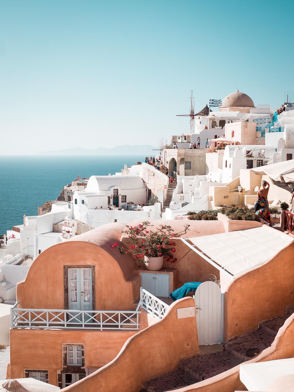 Santorin-Urlaub