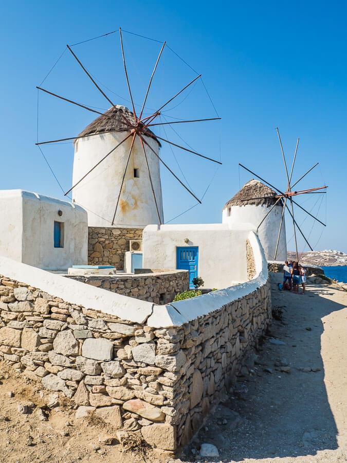mykonos-windmühle