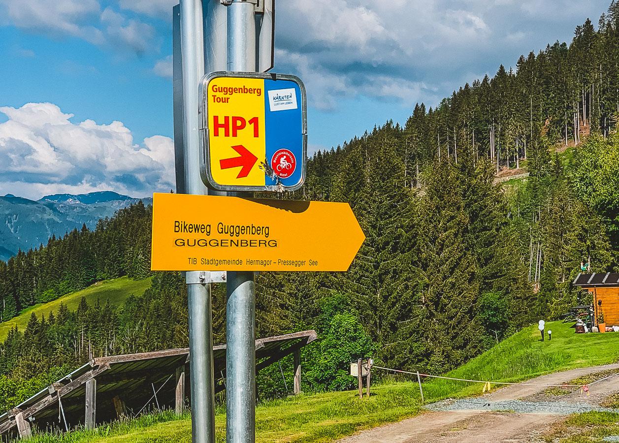 Mountainbike-Tour-Nassfeld-HP1-Guggenberg