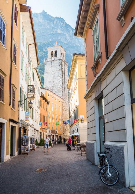 Bummel durch das Zentrum von Riva